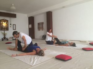 thai yoga massage course in Tenerife