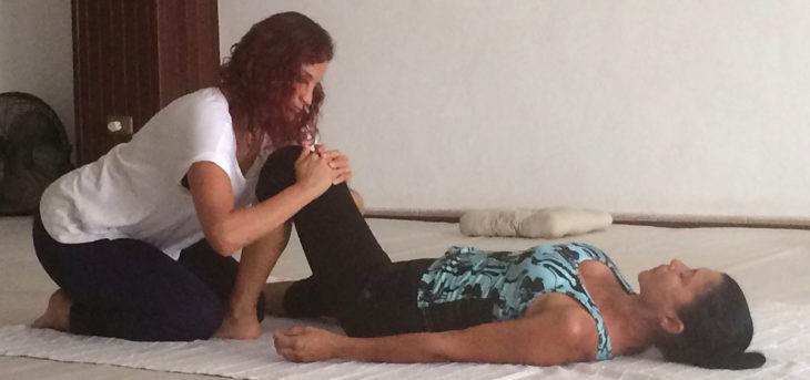 Masaje Thai-Yoga
